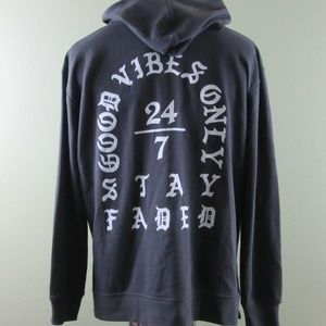 Rue21 Carbon Men's Hoodie Good Vibes Only Size M